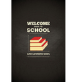 School poster books vector