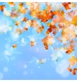 Abstract autumn background eps 10 vector