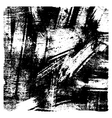 Black and white grunge texture vector
