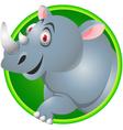 Rhino cartoon vector