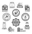 Post service label vector