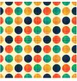 Seamless abstract polka dots pattern vector