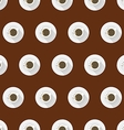 Flat background for coffee cup vector