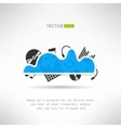 Music cloud icon online music storage technology vector