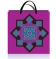 Lilac bag vector