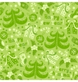 Seamless pattern happy new year vector