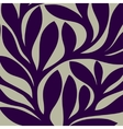 Grunge retro seamless pattern of colored leaves vector
