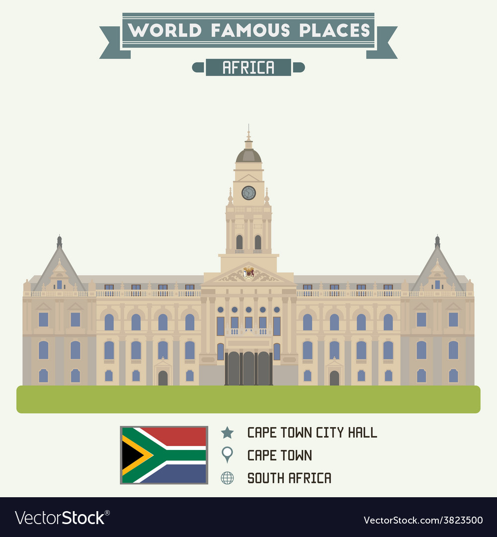 Cape town vector | Price: 3 Credit (USD $3)