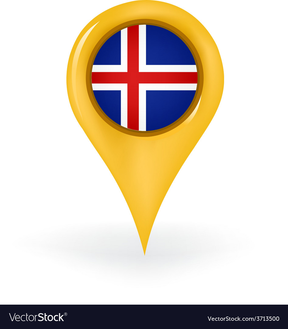 Location iceland vector | Price: 1 Credit (USD $1)