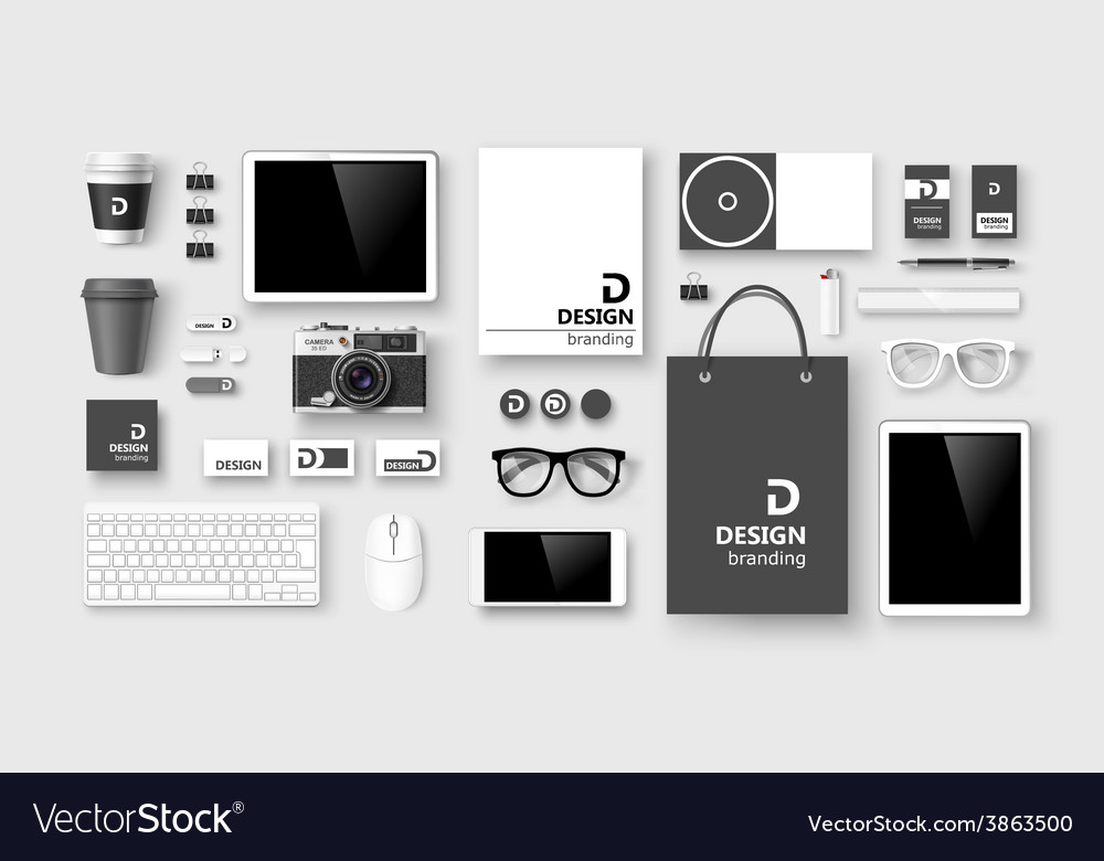 Set of corporate identity and branding vector | Price: 3 Credit (USD $3)