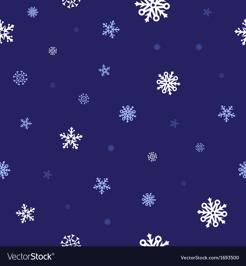 Snow blue pattern vector | Price: 1 Credit (USD $1)