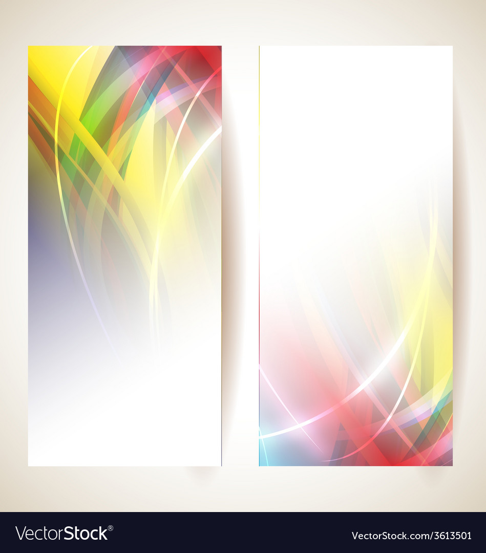 Abstract banner vector | Price: 1 Credit (USD $1)
