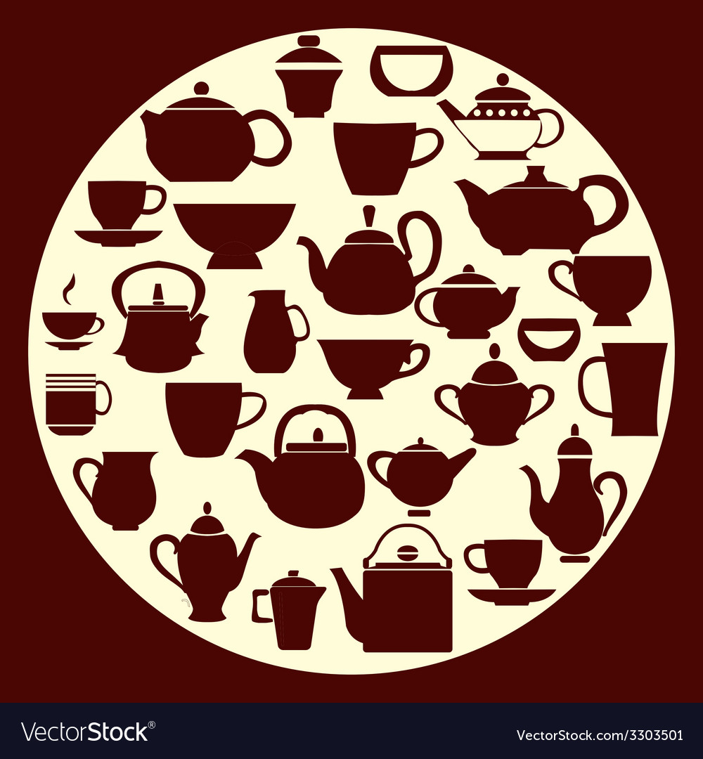 Coffee and tea - vector | Price: 1 Credit (USD $1)