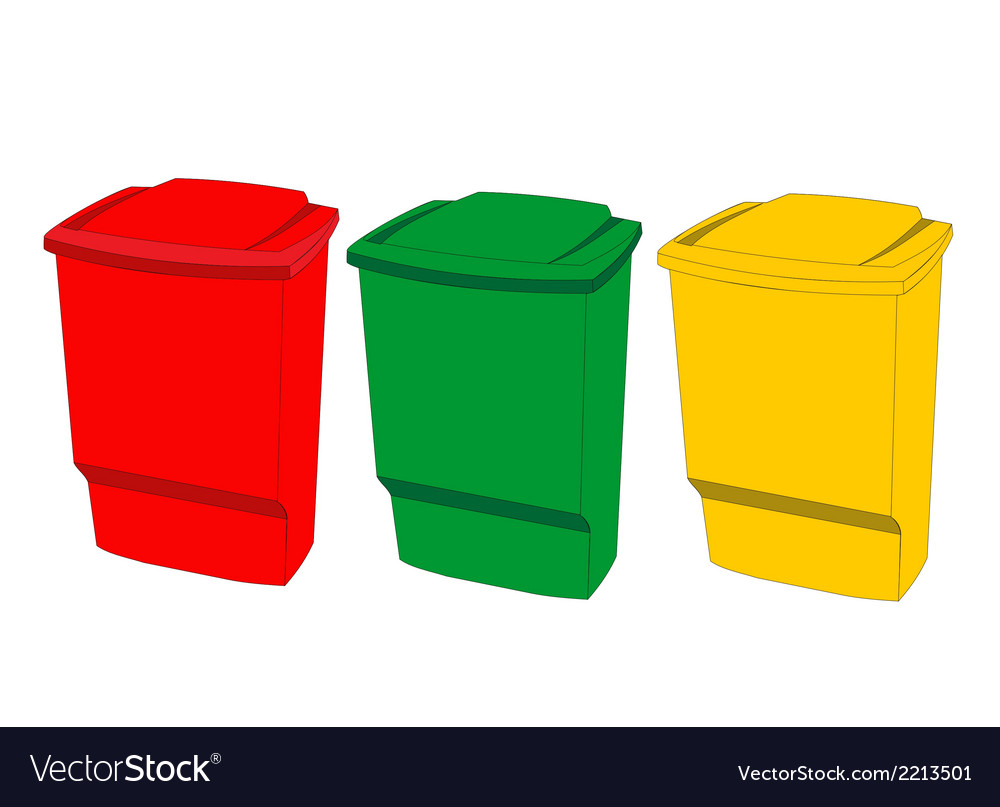 Recycle bin vector | Price: 1 Credit (USD $1)