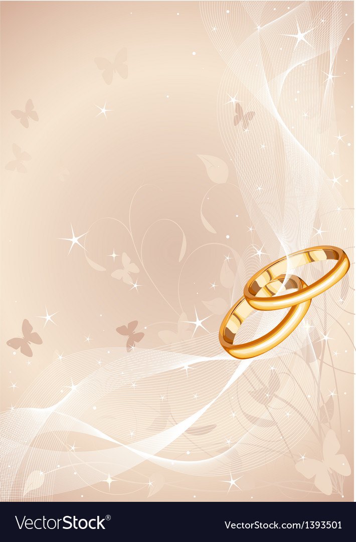 Wedding rings design vector | Price: 1 Credit (USD $1)