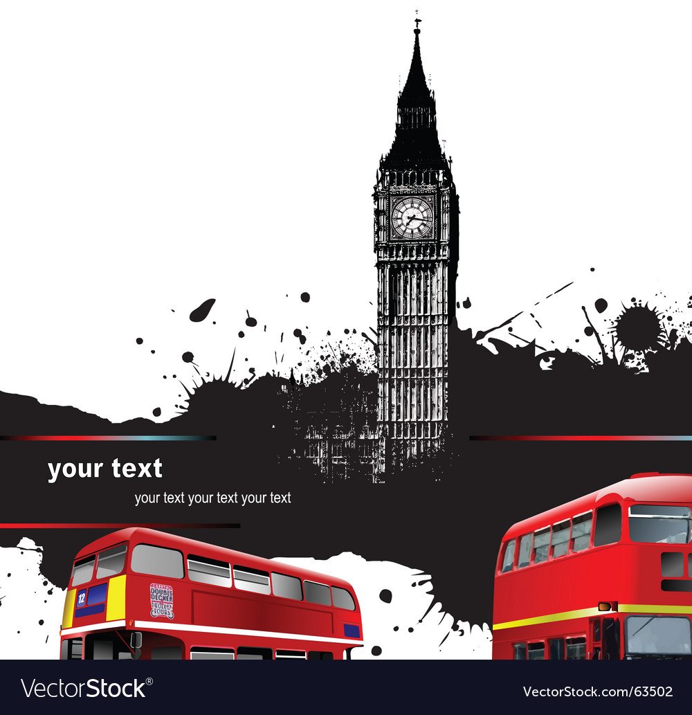 Grunge london vector | Price: 1 Credit (USD $1)