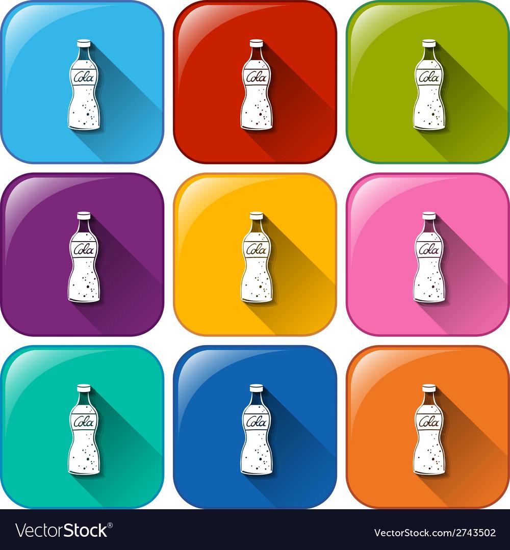 Soda icons vector   Price: 1 Credit (USD $1)