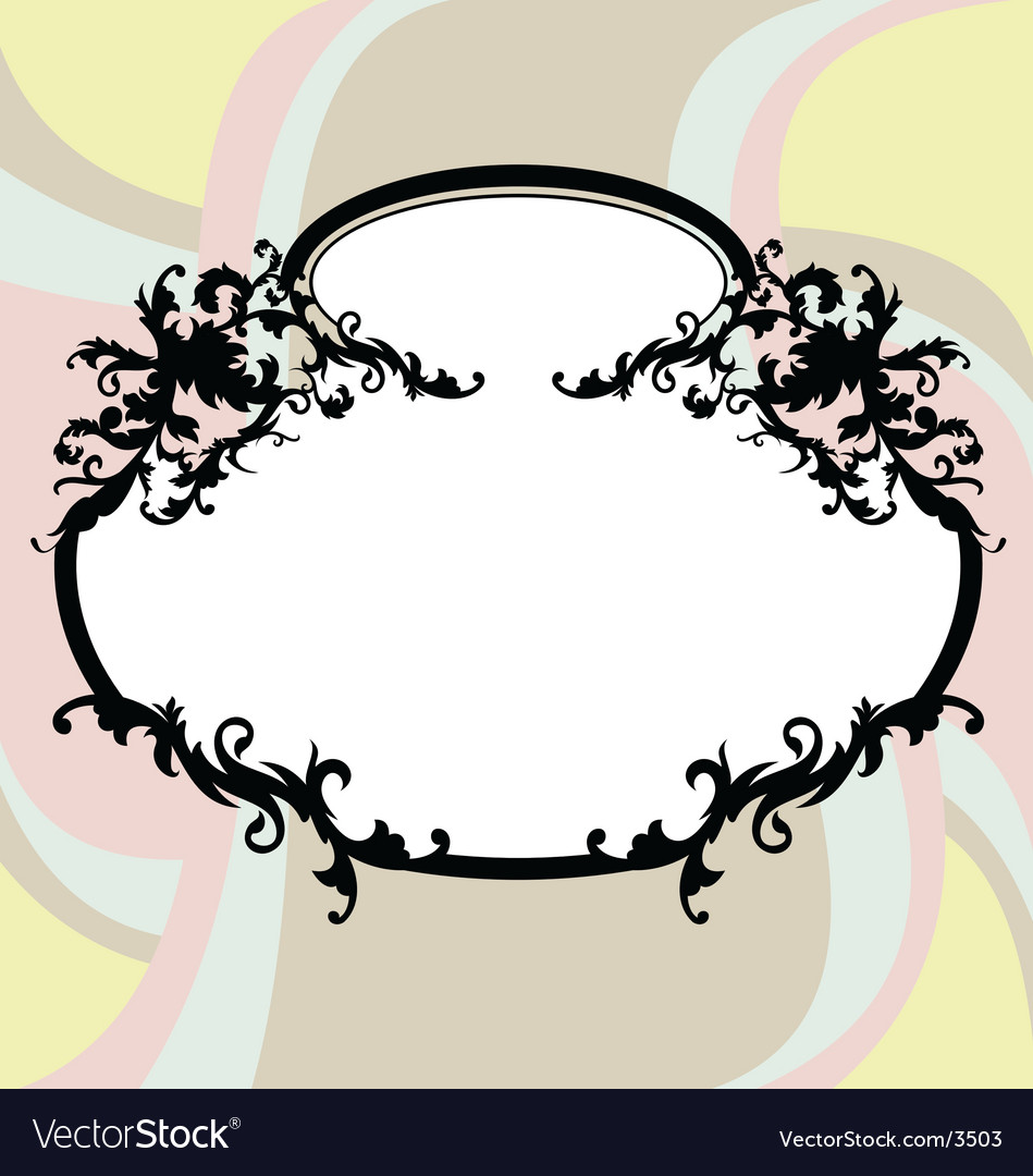 Ugly frame vector | Price: 1 Credit (USD $1)
