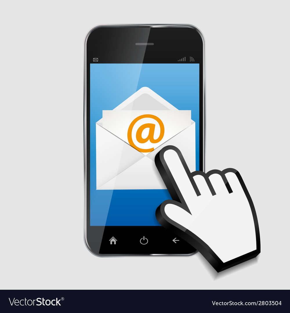 Design concept email write icon vector | Price: 1 Credit (USD $1)