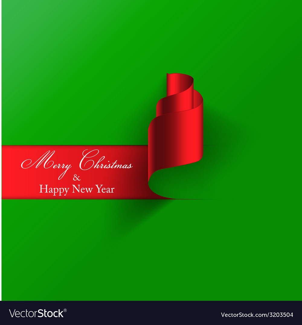 Paper christmas card 2 vector | Price: 1 Credit (USD $1)