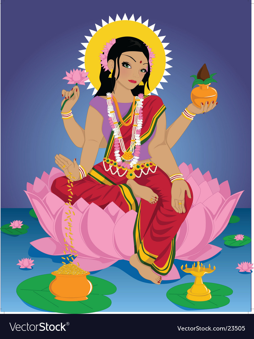 Lakshmi vector | Price: 5 Credit (USD $5)