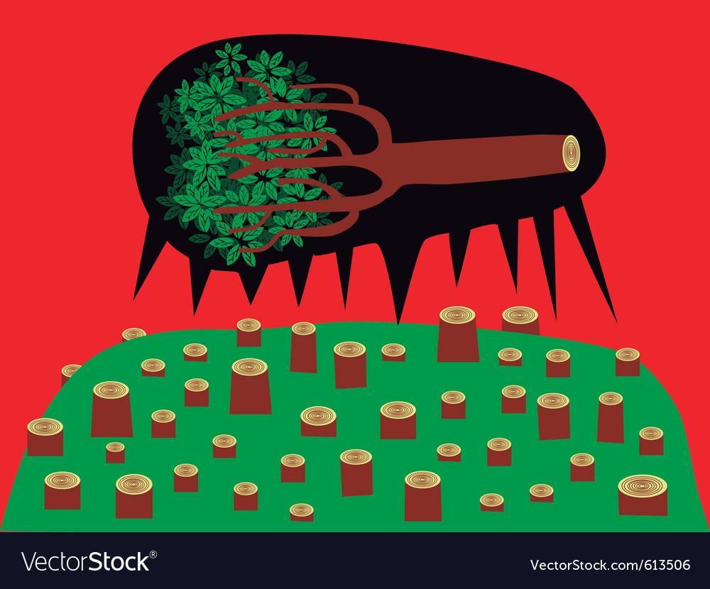 Dead tree vector | Price: 3 Credit (USD $3)