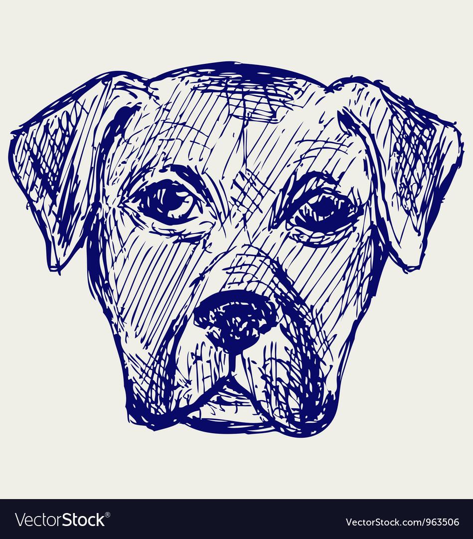 Portrait puppy vector   Price: 1 Credit (USD $1)