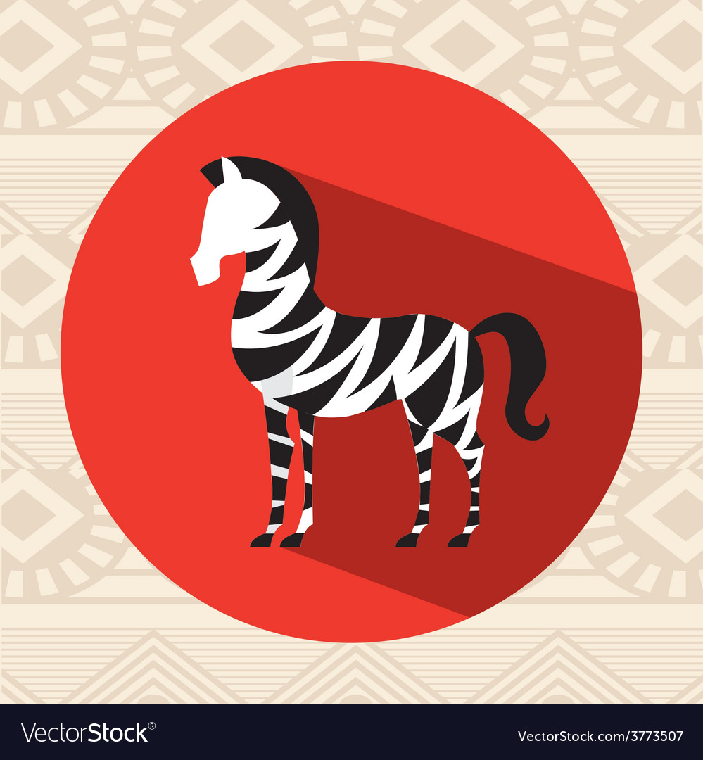 African culture vector