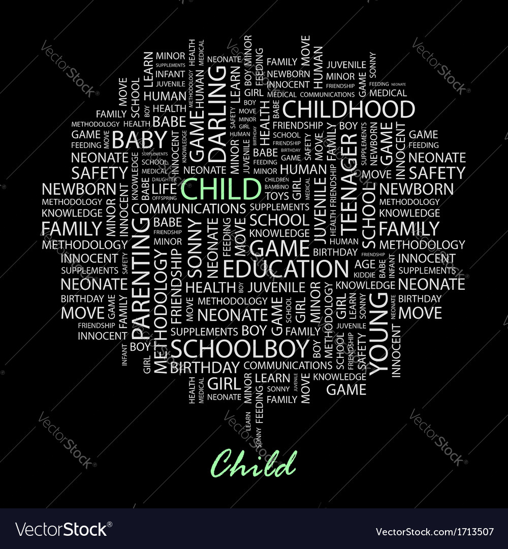 Child vector | Price: 1 Credit (USD $1)