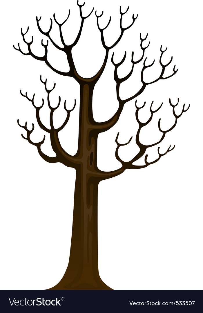 Dead tree vector | Price: 1 Credit (USD $1)