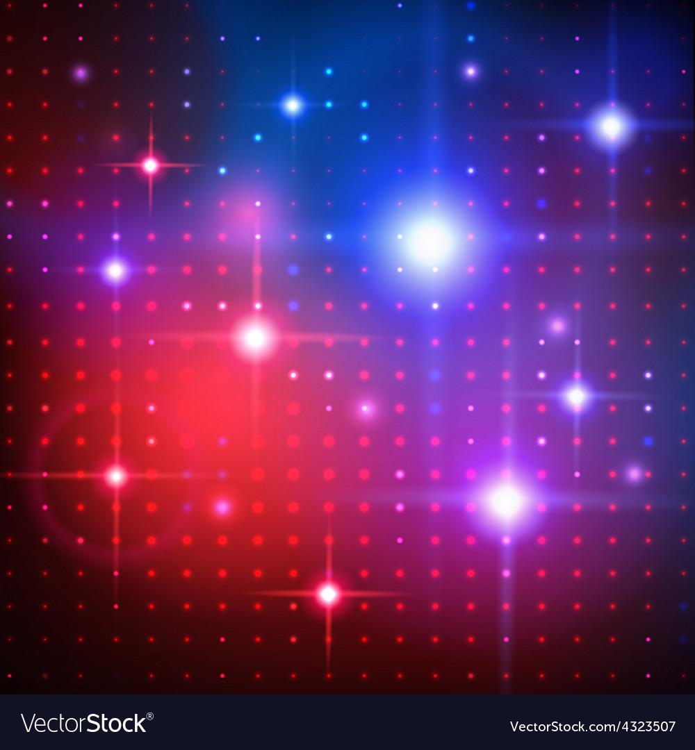 Disco lights background vector | Price: 1 Credit (USD $1)