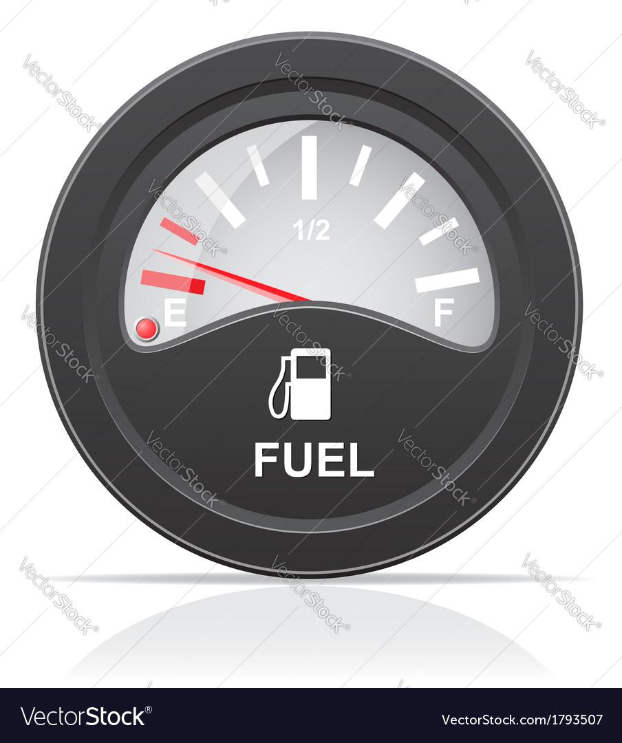 Fuel level indicator vector | Price: 1 Credit (USD $1)