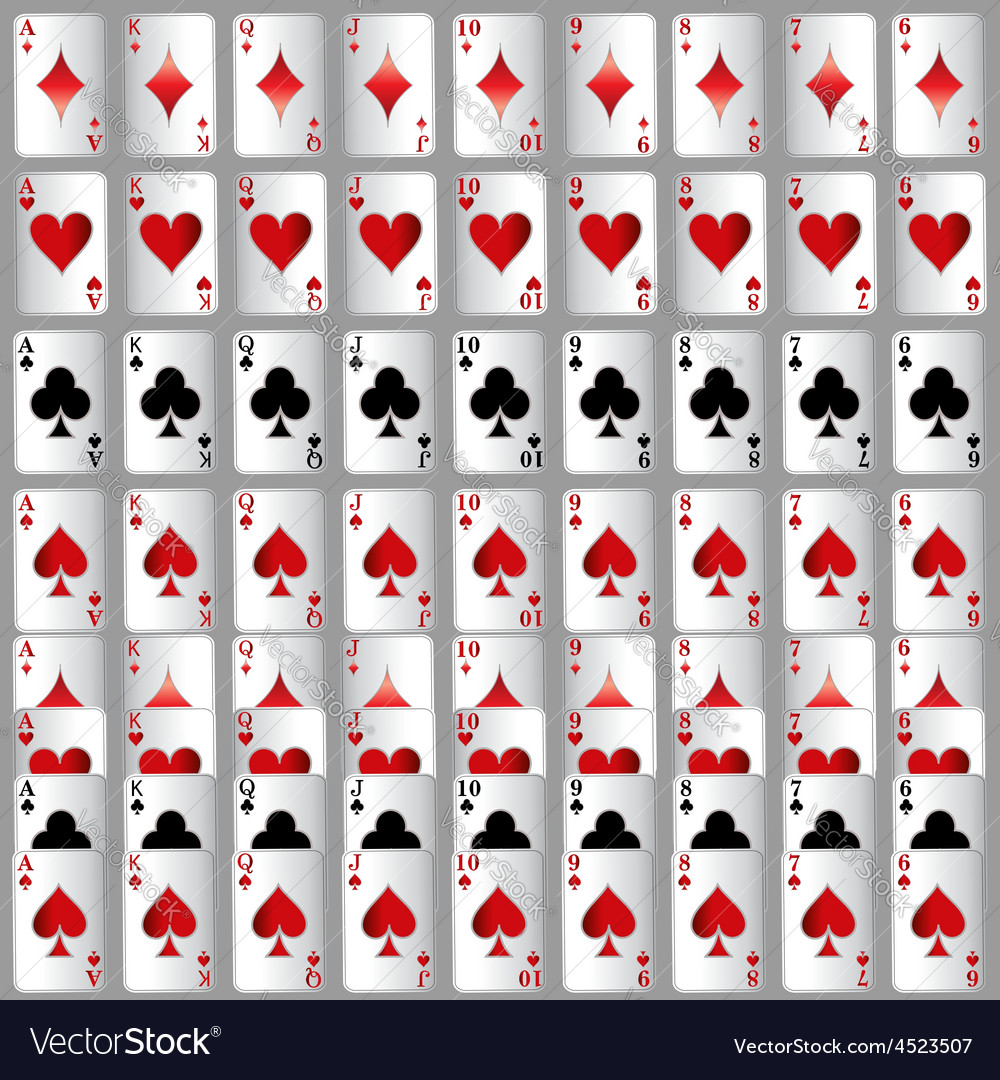 Game ace victory red white card winner royal gamb vector | Price: 1 Credit (USD $1)