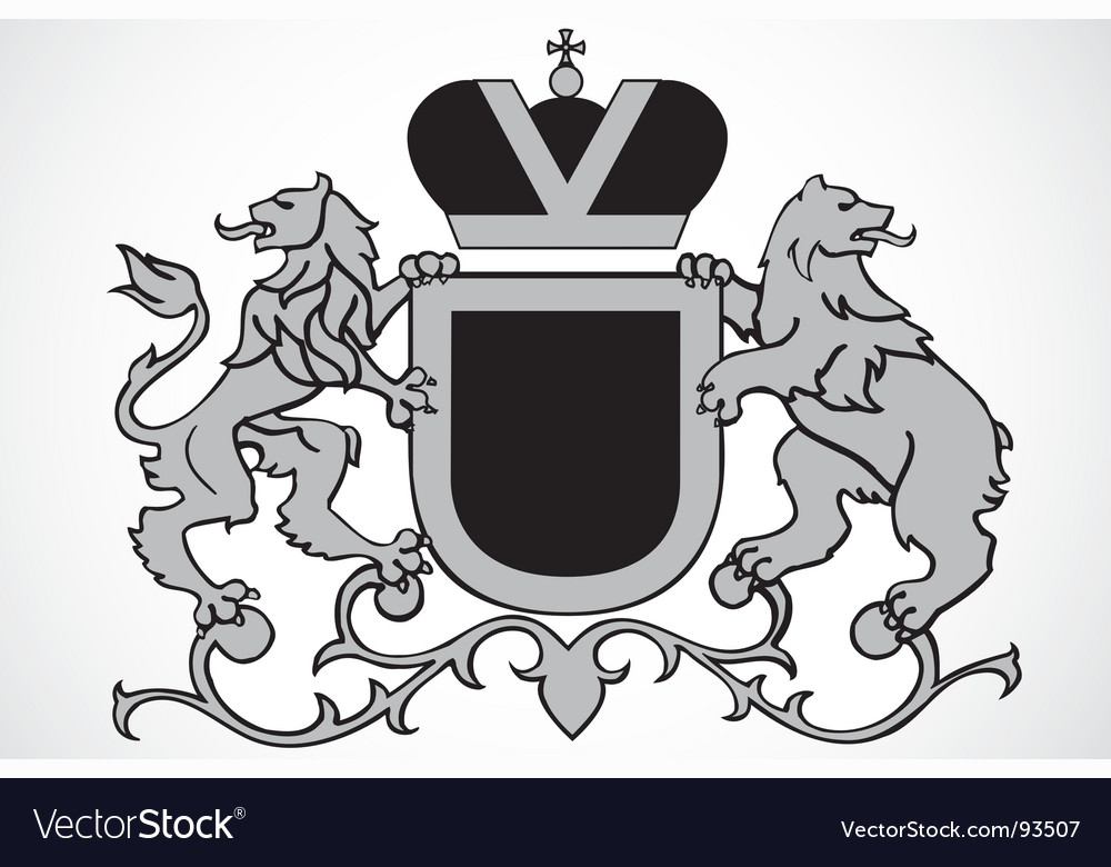 Lion ornament vector | Price: 1 Credit (USD $1)