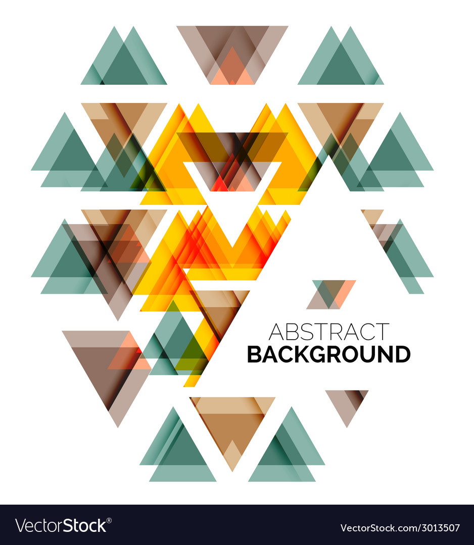 Triangle geometric concept vector | Price: 1 Credit (USD $1)