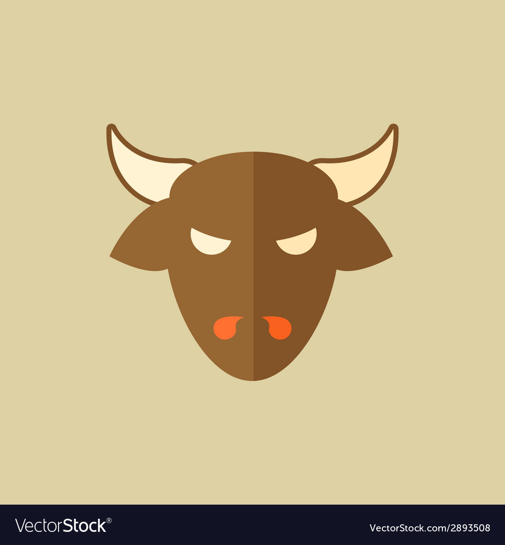 Beef food flat icon vector | Price: 1 Credit (USD $1)