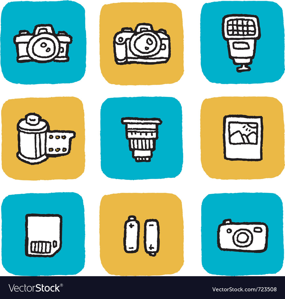 Icon cameras vector | Price: 1 Credit (USD $1)