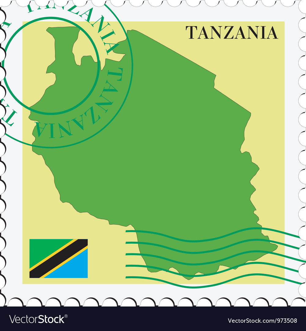 Mail to-from tanzania vector | Price: 1 Credit (USD $1)