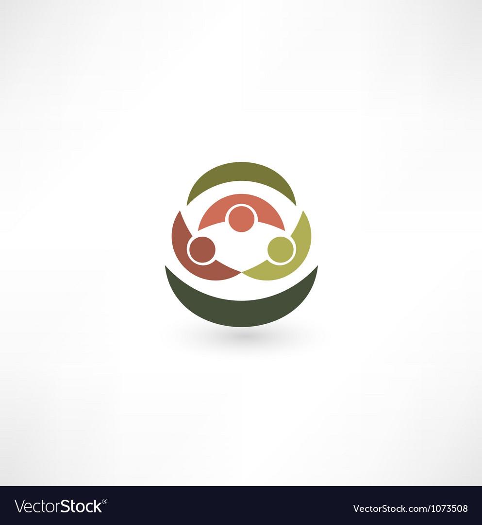 Team symbol vector | Price: 1 Credit (USD $1)