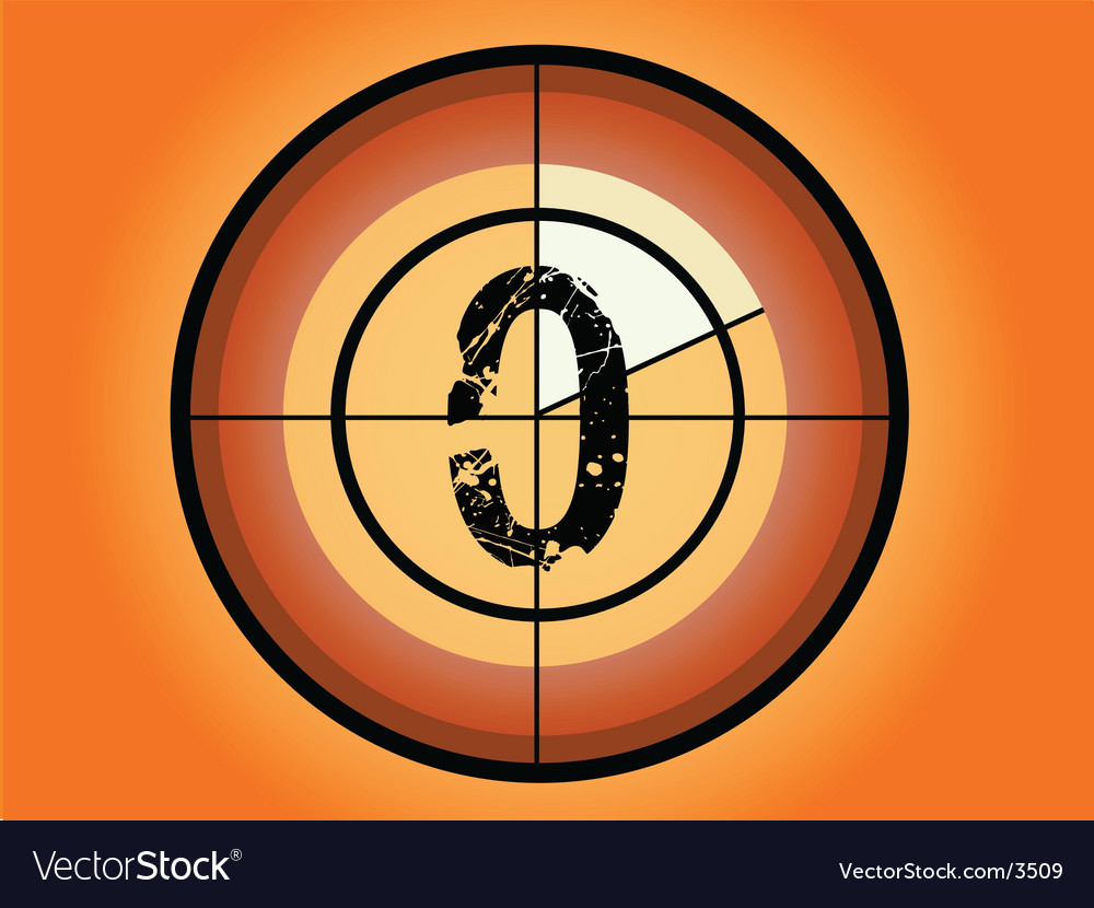 Circle countdown vector | Price: 1 Credit (USD $1)
