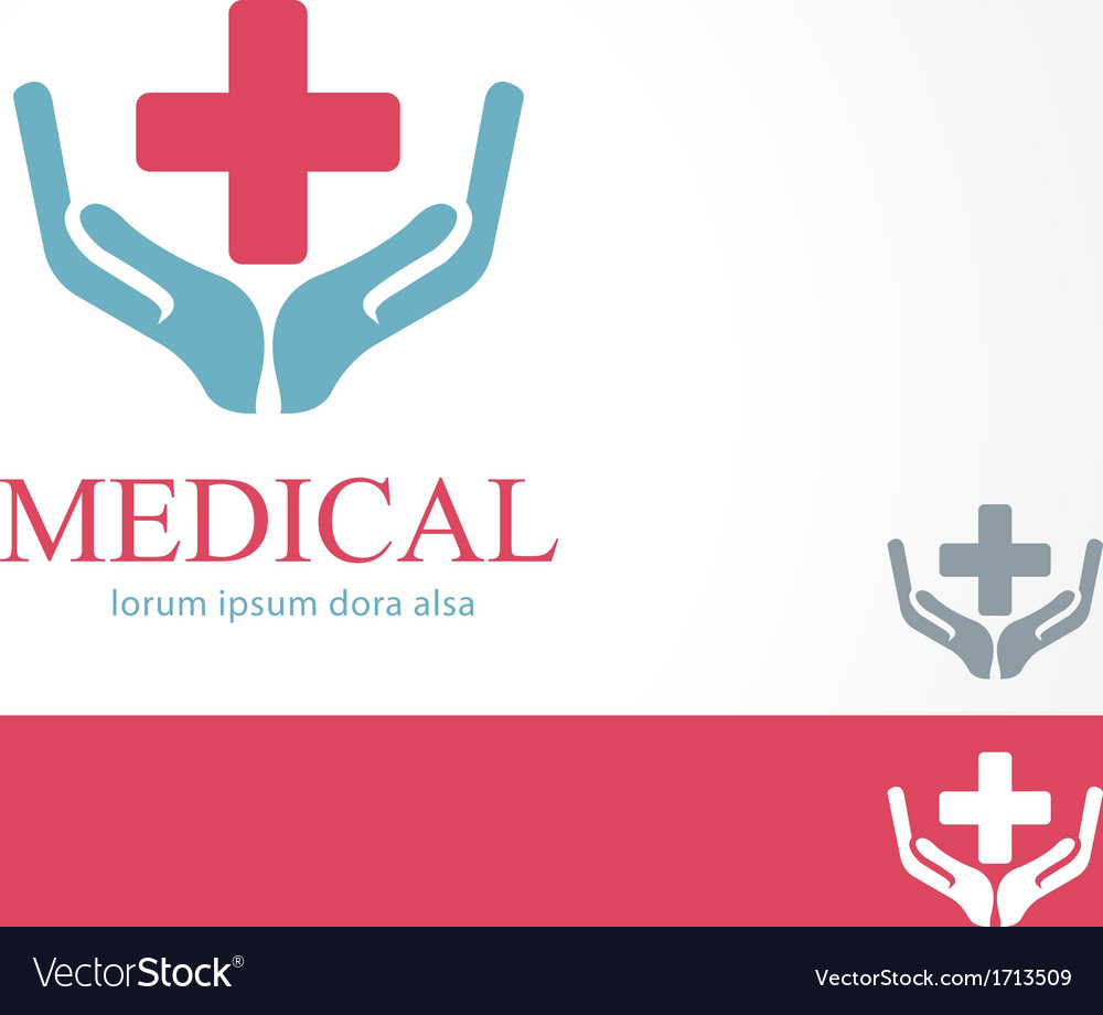 Medical pharmacy cross logo design template vector | Price: 1 Credit (USD $1)