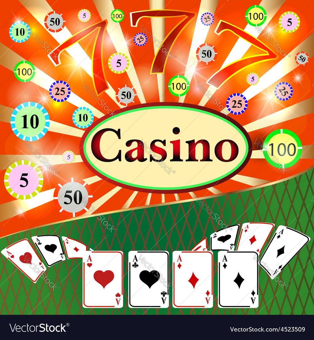 Poker casino cards the background gambling the sym vector | Price: 1 Credit (USD $1)