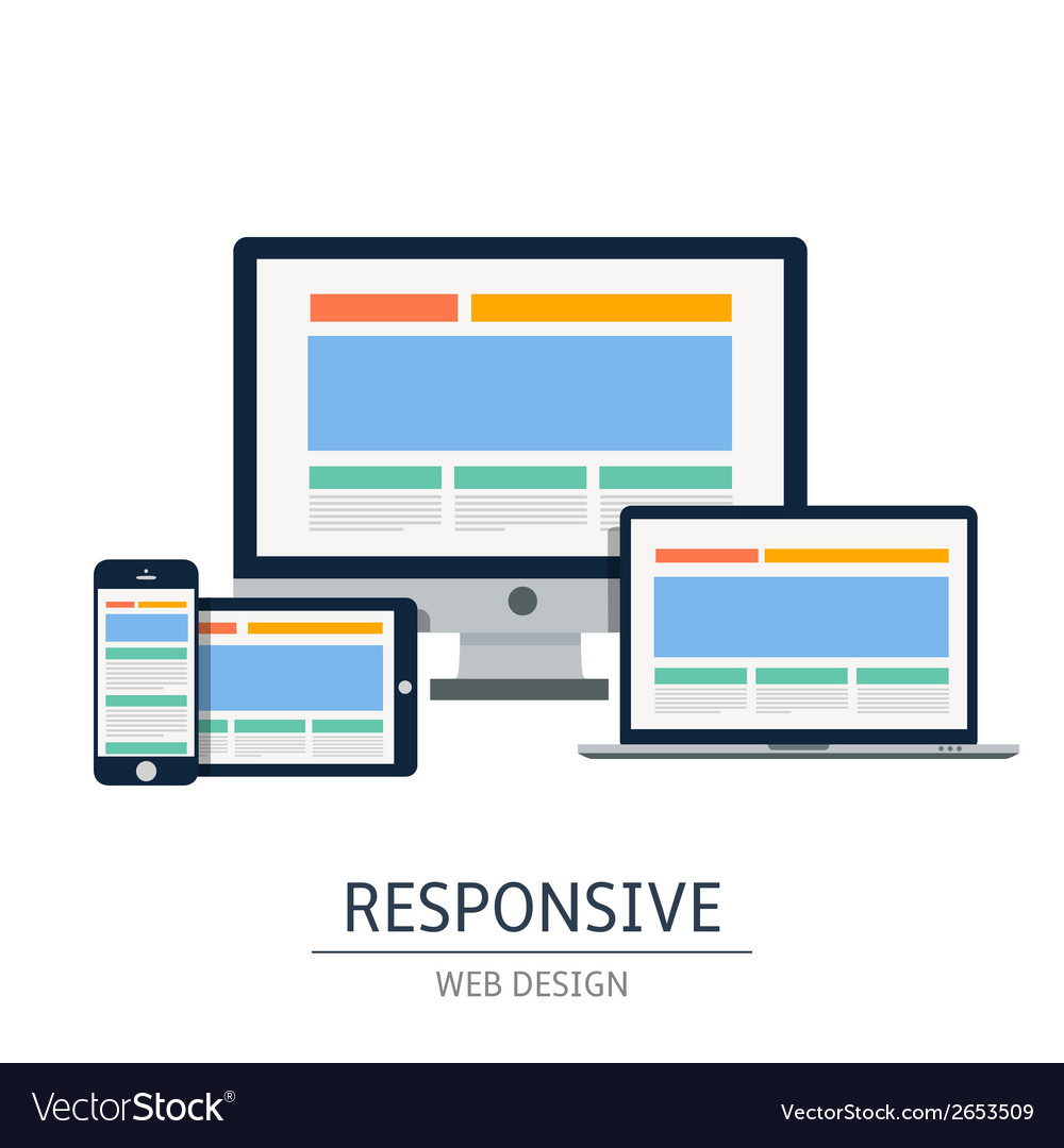 Responsive vector | Price: 1 Credit (USD $1)
