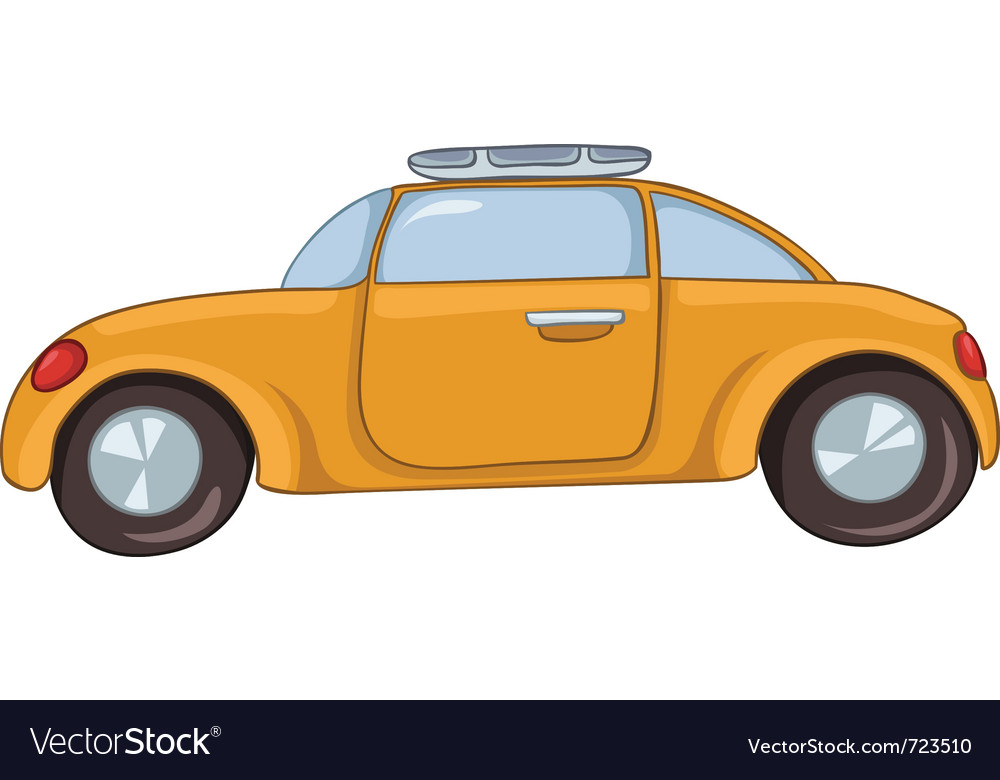 Cartoon car vector | Price: 1 Credit (USD $1)