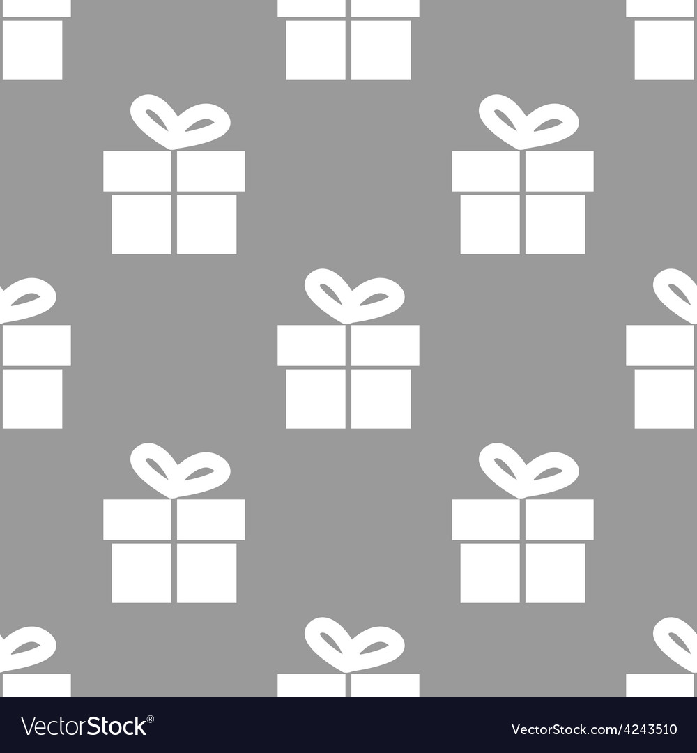 Gift seamless pattern vector | Price: 1 Credit (USD $1)
