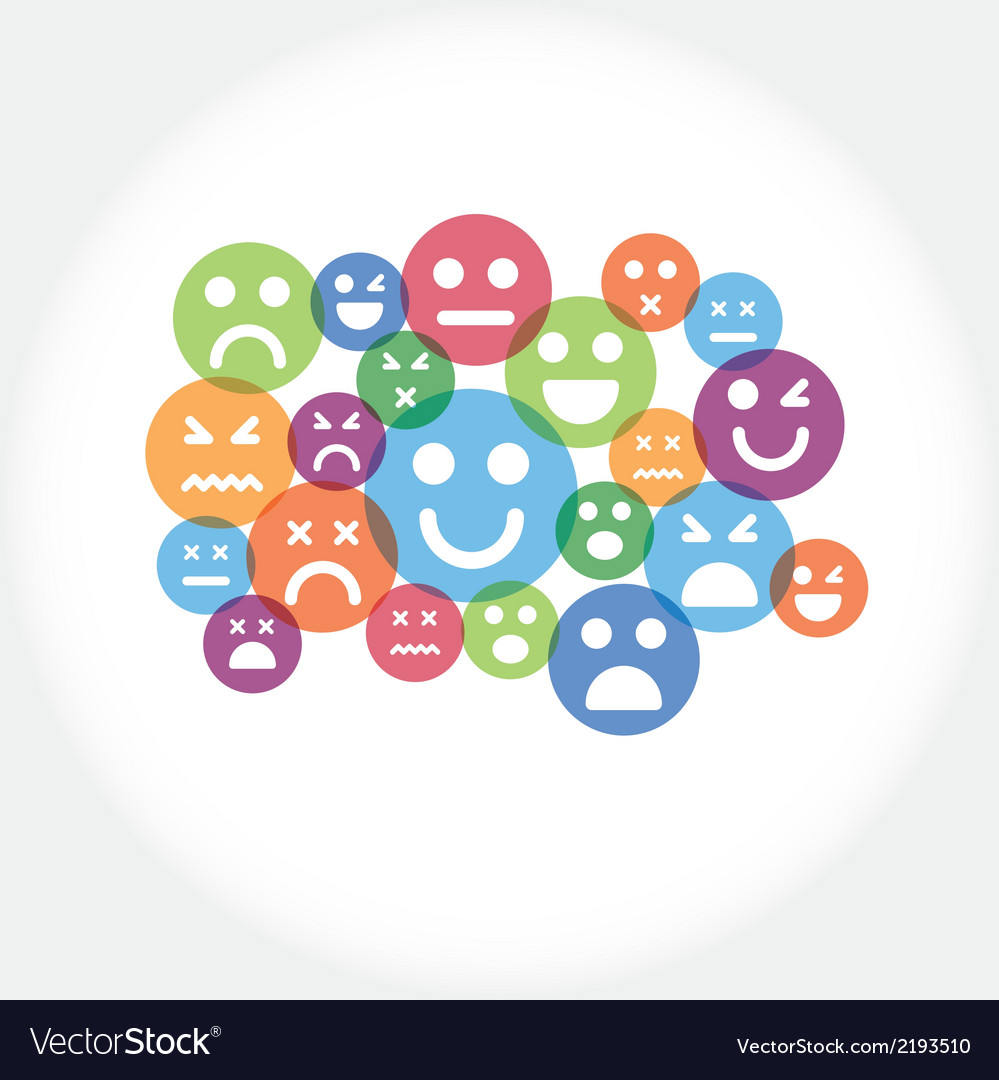 Smile icon vector | Price: 1 Credit (USD $1)