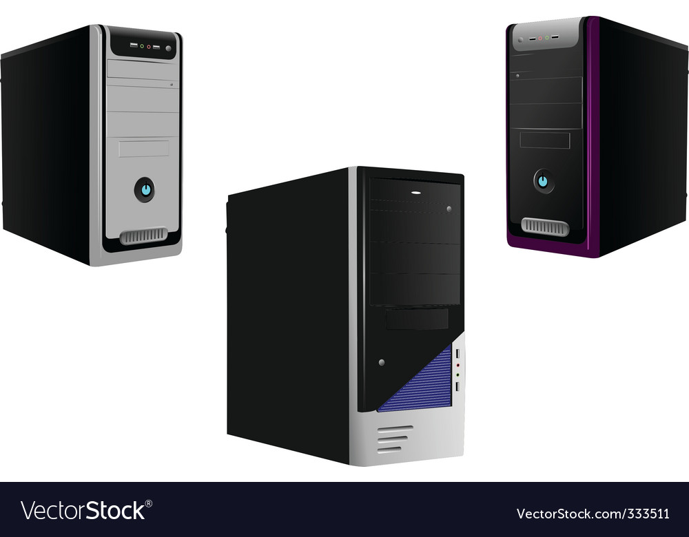 Computers vector | Price: 1 Credit (USD $1)