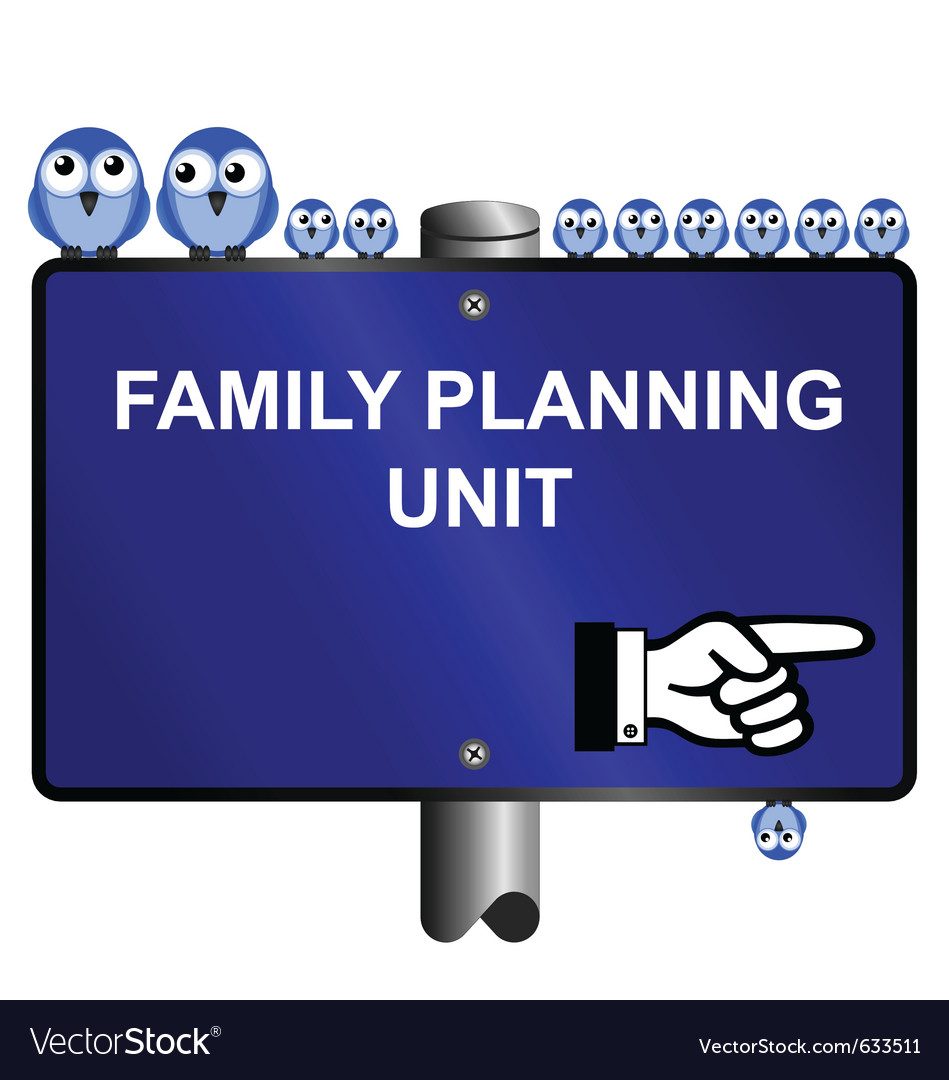 Family planning vector | Price: 1 Credit (USD $1)