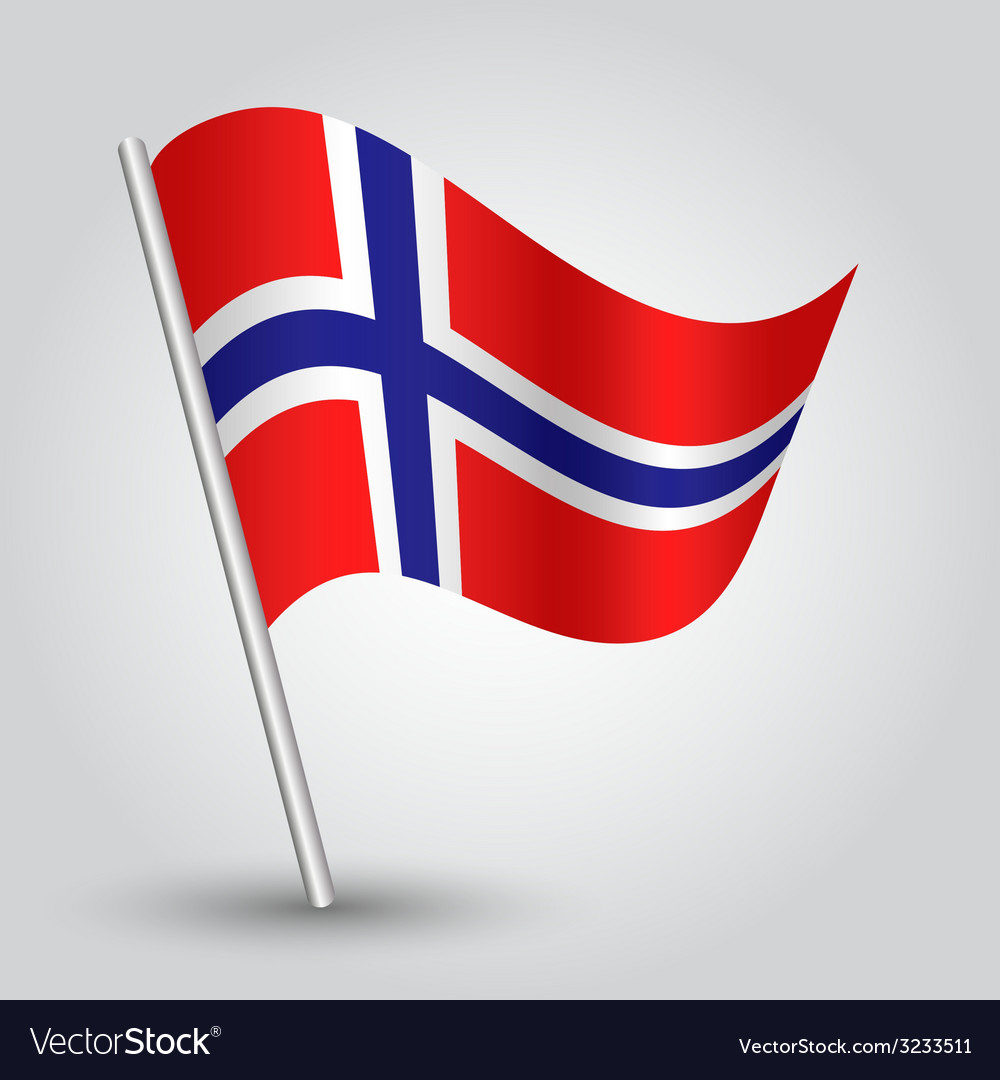Flag norway vector | Price: 1 Credit (USD $1)