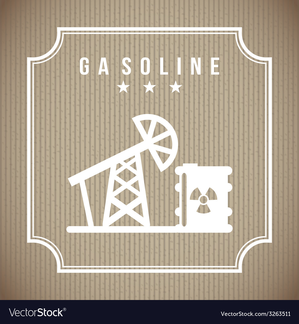 Gas industry design vector | Price: 1 Credit (USD $1)